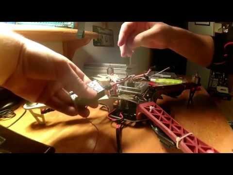 F450 quadcopter build KK 2.1.5 board - UCT6SimQZ2bSEzaarzTO2ohw