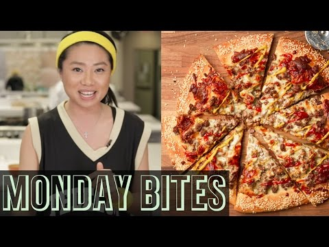 Monday Bites: Meatball Sliders + Cheeseburger Pizza | Food Network