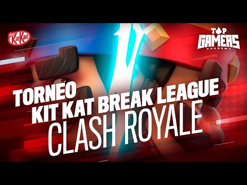 TORNEO BREAK LEAGUE – CLASH ROYALE (26NOV) | TOP GAMERS ACADEMY