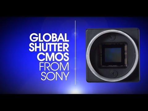 The new XCG-CG240 & XCG-CG510 GSCMOS Industrial Cameras from Sony.
