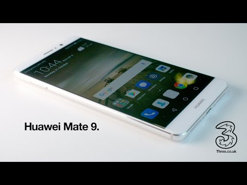 Huawei Mate 9 on Three. [4K]