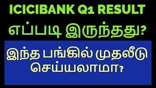 ICICIBANK | Q1 RESULT எப்படி இருக்கும்?|Nifty|Sensex|NSE|Equity|Stock Market|Tamil|Share|Zerodha|CTA