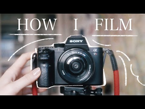 How I Shoot Painting Videos | Camera, Overhead filming