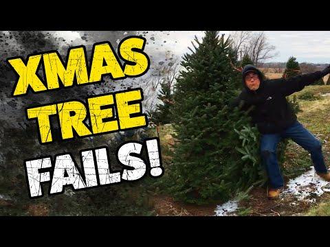 Christmas Tree Fails!   The Best Fails   Hilarious Fail Videos 2019