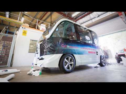 Introducing Curtin's first driverless bus!