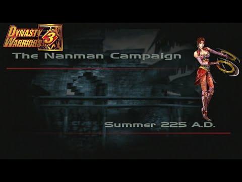 Dynasty Warriors 3 - Sun Shang Xiang - The Nanman Campaign