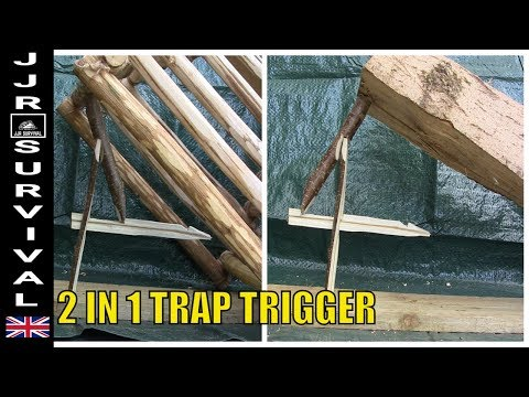 How To Make A Reversible Figure 4 Deadfall Trap Trigger