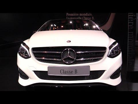 2015 Mercedes-Benz B-Class B180 CDI Diesel - Exterior and Interior Walkaround - 2014 Paris Auto show - automototube