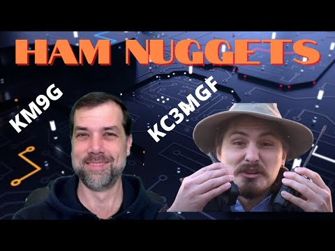 Ham Nuggets Live - #GridDown Chris Broholm/KC3MGF