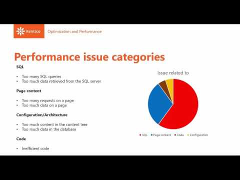 Kentico 9 - Technical Webinar: Optimization & Performance