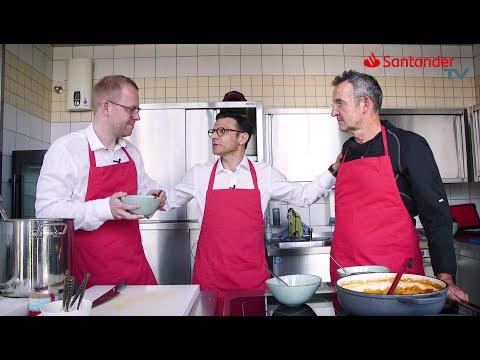 Santander TV: Kochen und Digitale Transformation