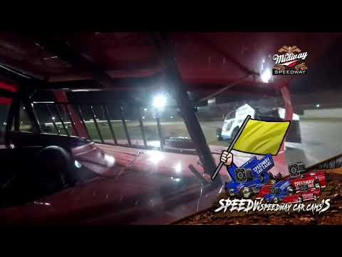 #F1 Mitchell Franklin - Usra B Modified - 7-30-2021 Lebanon Midway Speedway - In Car Camera - dirt track racing video image