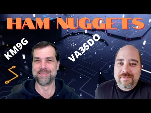 Ham Nuggets Live!  Daniel Theriault, VA3SDO