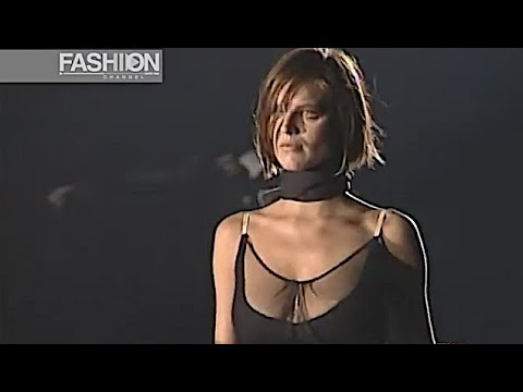 ALESSANDRO DELL' ACQUA Fall 1999 Milan - Fashion Channel