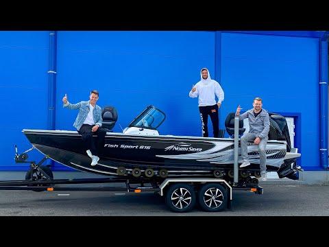 Моя первая Лодка. Как Производят Катера NorthSilver. Одежда для Рыбаков Simms