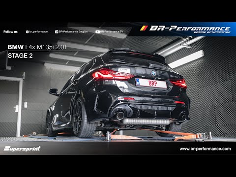 BMW M135i 2.0T / Stage 2 By BR-Performance / Supersprint exhaust