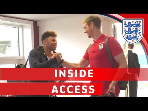 Southgate's England squad arrive at St George's Park   Inside Access