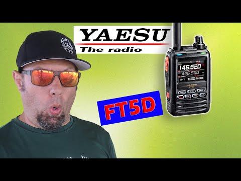 Yaesu REVEALS the FT5D - New Yaesu System Fusion Ham Radio Handheld