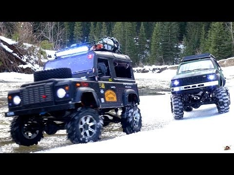 RC ADVENTURES - Gelände II 4x4 Defender D90 & Toyota Hilux Trail Finder 2 - Icy Scale RC Trucks - UCxcjVHL-2o3D6Q9esu05a1Q