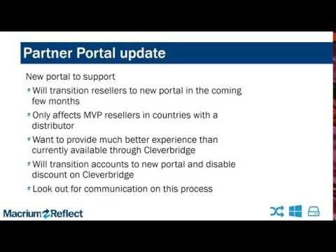 Macrium Software Update Webinar for US & Canadian Resellers
