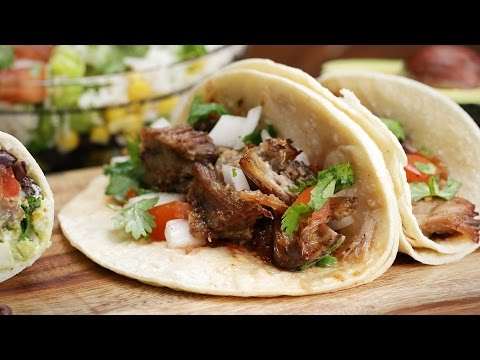 Slow Cooker Carnitas For Tacos And Burritos