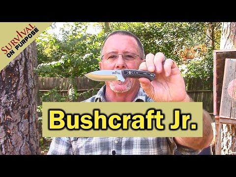 Compact Bushcraft Knife - Jeo Tec No 11 Neck Knife Giveaway!
