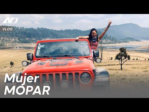 Karla acompañó a MOPAR en una aventura todo terreno - Vlog AutoDinámico