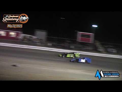 Southwest Speedway IMCA Sport Mod A-Main (5/1/21) - dirt track racing video image