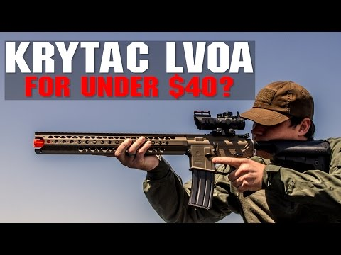 Krytac LVOA For Under $40? | Get Your Dream Guns On A Budget! | AIRSOFTGI
