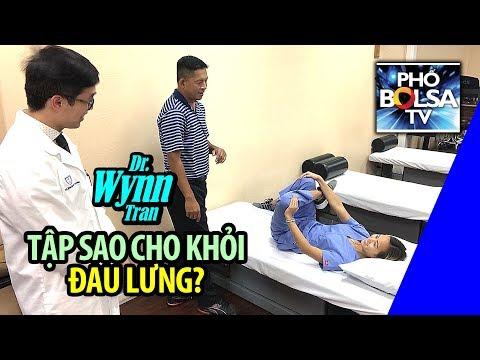 SỐNG KHỎE VỚI BS WYNN TRAN: Tập sao cho khỏi đau lưng?