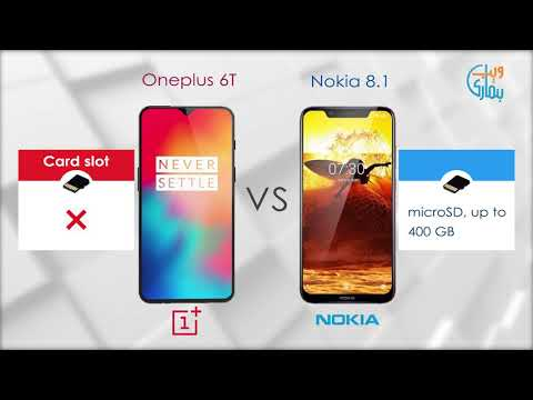 Nokia 8.1 vs OnePlus 6T Comparison
