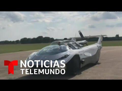 El auto volador del futuro es ya una realidad