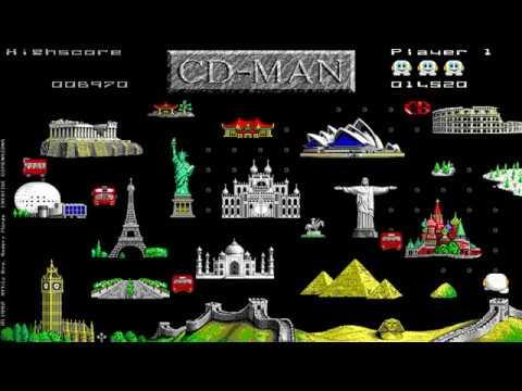 CD-Man Version 2.0 (Creative Dimensions) (MS-DOS) [1992]