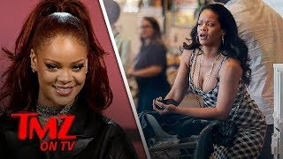 Rihanna Goes Shopping Alone At An L.A. Grocery Store | TMZ TV