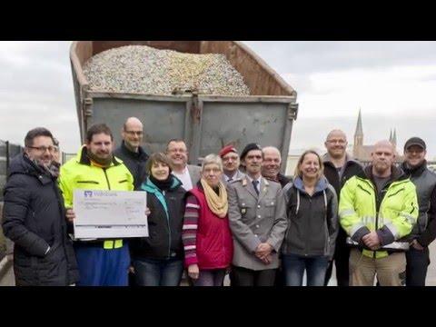 Weltrekord im Kronkorken-Sammeln hilft Darmkrebs-Betroffenen