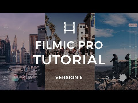 How to Setup and Use FiLMiC Pro Version 6 on Your iPhone | FiLMiC Pro Tutorial - UCtBBof9h6CoSgF7EHXDKPnw