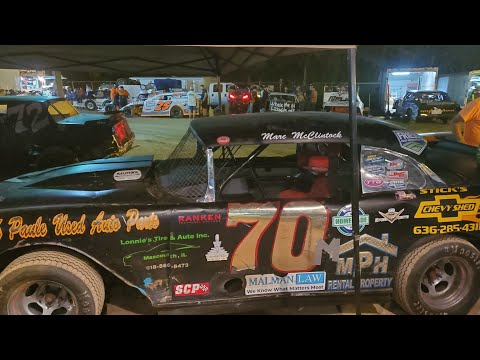 In Car Cam of Marty Smith Jr at Highland Speedway 8-13-21  (S.S.) - dirt track racing video image