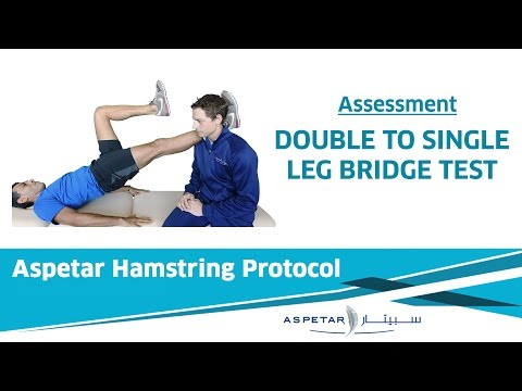 14. Assessment - Double to Single leg bridge test