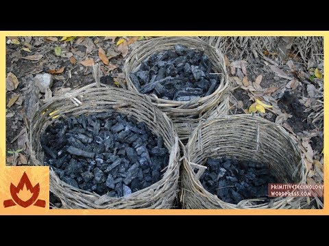 Primitive Technology: Charcoal Poster