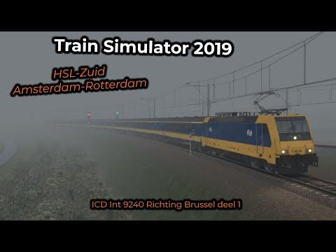 ICD Int 9240 Richting Brussel deel 1 -- Livestream 02/06/2019