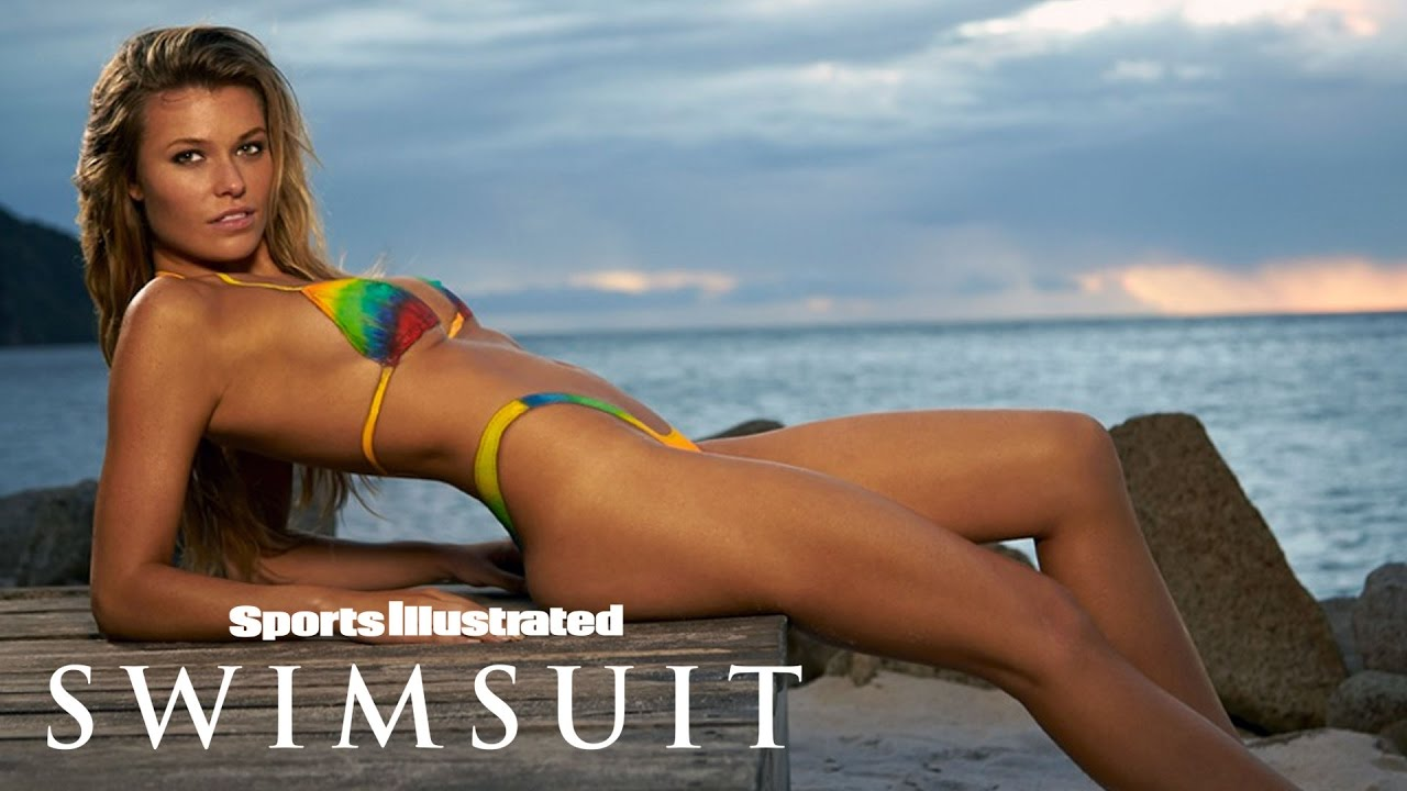 Samantha Hoopes Gets Colorful In Sexy Tie-Dye Body Painting   Sports Illustrated Swimsuit