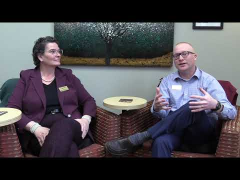 One University Vlog 2/17/2020: Maria Cuzzo and Harry Anderson