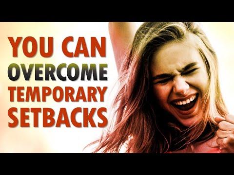 You Can OVERCOME Temporary Setbacks - Morning Prayer