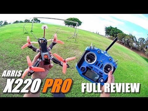 ARRIS X220 PRO FPV Race Drone - Full Review - Unboxing, Flight/CRASH Test, Pros & Cons - UCVQWy-DTLpRqnuA17WZkjRQ