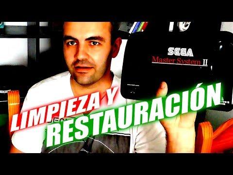 LIMPIEZA Y RESTAURACIÓN DE MI MASTER SYSTEM 2 DE WALLAPOP