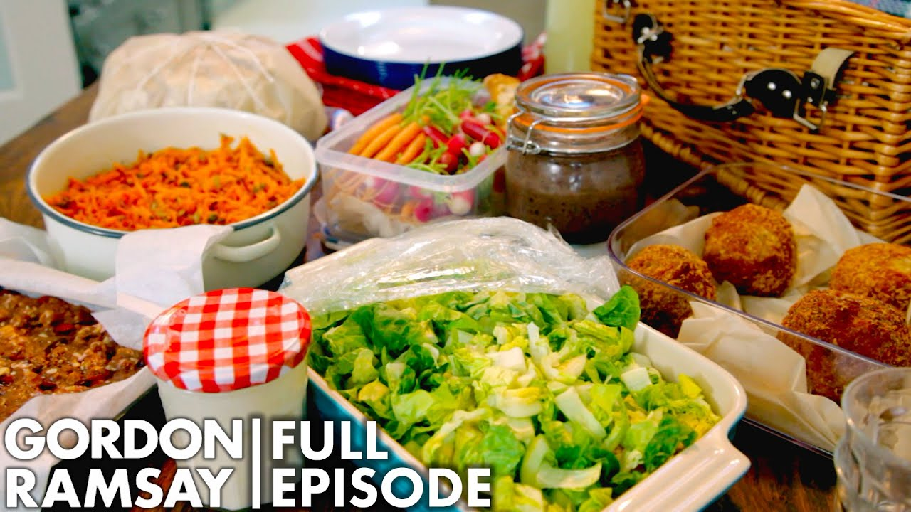 Picnic Recipes With Gordon Ramsay   Home Cooking FULL EPISODE