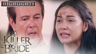 Camila tearfully explains to the Dela Torres what happened with her and Javier   The Killer Bride