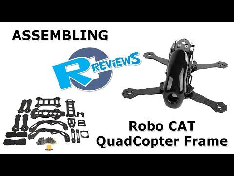Robocat 270mm  carbon fiber rc 4axis quadcopter Frame - assembly - UCv2D074JIyQEXdjK17SmREQ
