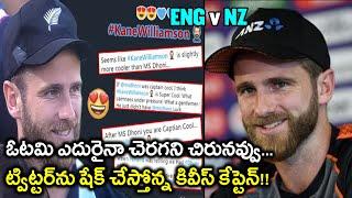 ICC Cricket World Cup 2019 Final : Twitter Salutes Kane Williamson For Smiling Despite Heartbreak