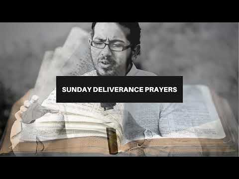 DELIVERANCE FROM NEGATIVE AND DOWNCAST SPIRIT, Sunday Deliverance Prayers with Evangelist Gabriel